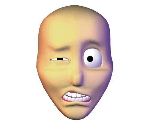 анимация лица